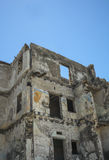 Het inbouwen van ruïnes Royalty-vrije Stock Afbeeldingen