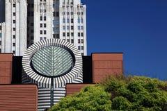 Het inbouwen van San Francisco Stock Afbeeldingen