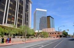 Het inbouwen van Tucson stock foto