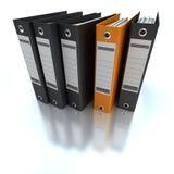 Het indienen van en het organiseren van informatie Stock Fotografie
