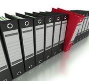 Het indienen van en het organiseren van informatie Royalty-vrije Stock Afbeelding