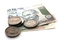 Het Indische geld van de Roepie royalty-vrije stock afbeelding