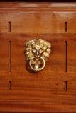 Het Indische houten werk Stock Afbeelding