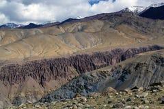 Het Indische Landschap van Himalayagebergte stock afbeelding