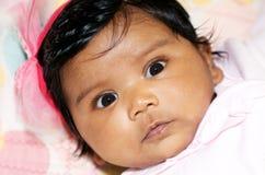Het Indische Meisje van de Baby Royalty-vrije Stock Foto