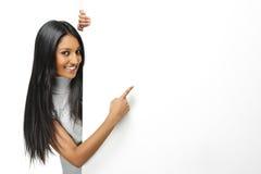 Het Indische meisje voorstellen Royalty-vrije Stock Foto