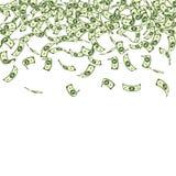 Het Indische Roepienota's vallen Kleine INR rekeningen op whi royalty-vrije illustratie