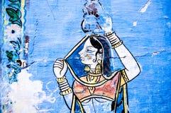 Het Indische Schilderen Stock Fotografie