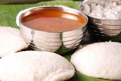 Het Indische voedsel van het zuiden stock foto's