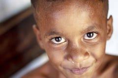 Het Indonesische kinderen glimlachen Stock Fotografie