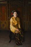 HET INDONESISCHE PROBLEEM VAN DE KINDERENondervoeding Royalty-vrije Stock Afbeelding