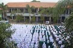 Het Indonesische schoolleven 4 Stock Foto