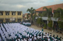 Het Indonesische schoolleven 7 Stock Afbeeldingen
