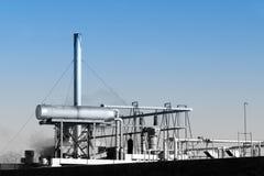 Het industriële Door buizen leiden Stock Foto