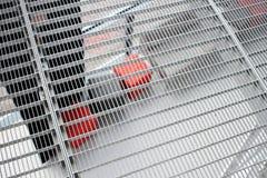 Het industriële Net van de Metaalvloer in het Binnenland van Nice stock afbeeldingen