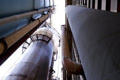Het industriële proces van de fabrieksproductie stock fotografie