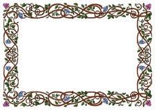 Het ineengestrengelde Frame van Takken Royalty-vrije Illustratie