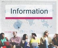 Het informatiegegevensbestand van middelen voorziet Resultatenconcept royalty-vrije stock foto's