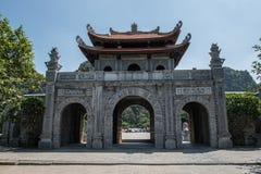 Het ingaan van Hoa Lu Stock Foto