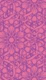 Het ingewikkelde Naadloze Patroon van het Behang Royalty-vrije Stock Afbeelding