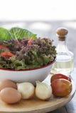 Het Ingrediënt van de salade Stock Foto's