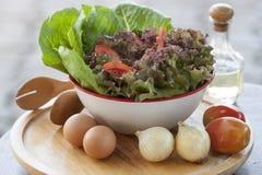 Het Ingrediënt van de salade Stock Foto