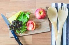 Het ingrediënt van de salade Stock Afbeelding