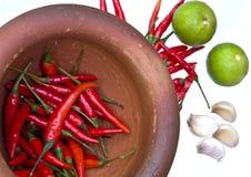 Het ingrediënt voor het koken treft voorbereidingen Stock Foto