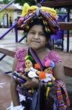 Het inheemse meisje van El Salvador Stock Afbeelding