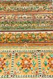Het inheemse Thaise patroon van de stijlbloem Stock Afbeelding