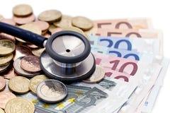 Het inkomen van artsen Royalty-vrije Stock Foto
