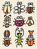 Het insect van het beeldverhaal Royalty-vrije Stock Fotografie