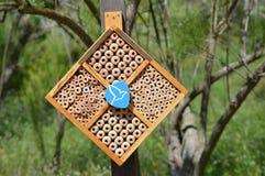 Het insecthotel Royalty-vrije Stock Foto