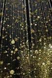 Het installatielicht is Tijd door Burger bij Triennale-Di Milaan Stock Foto's