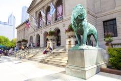 Het instituut van de Kunst van Chicago Royalty-vrije Stock Foto's