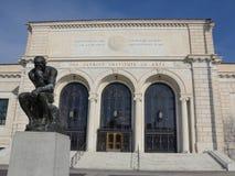Het Instituut van Detroit van Arts Stock Afbeeldingen