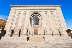 Het Instituut van Mesropmashtots stock fotografie
