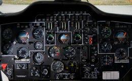 Het instrument & contro van de helikopter royalty-vrije stock afbeelding