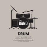 Het Instrument van de drumstelmuziek Stock Foto
