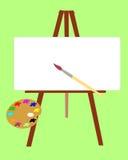 Het instrument van de kunstenaar. Royalty-vrije Stock Foto's