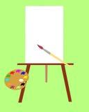 Het instrument van de kunstenaar. Royalty-vrije Stock Afbeelding