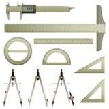 Het Instrument van de Meting van de wiskunde