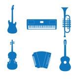 Het instrument van de muziek Royalty-vrije Stock Afbeeldingen