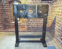 Het instrument van marteling voor straf in de Middeleeuwen royalty-vrije stock afbeeldingen