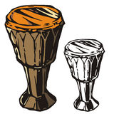 Het instrumentenreeks van de muziek Stock Afbeelding