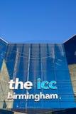 Het internationale Centrum Birmingham, het UK van de Overeenkomst stock afbeeldingen