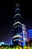 Het internationale Centrum van Financiën Guangzhou Stock Afbeeldingen