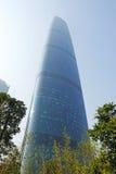 Het internationale Centrum van Financiën Guangzhou (GZIFC) Stock Fotografie