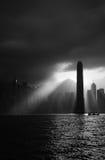 Het internationale Centrum van Financiën, Hongkong Stock Foto's