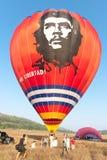 Het internationale Festival Montgolfeerie van de Ballon Royalty-vrije Stock Afbeeldingen